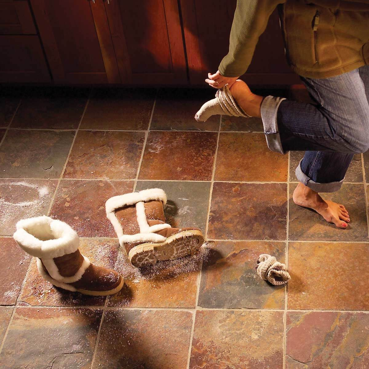 heated wiring diy to floor how tile install electrical and know floors skills step a tos