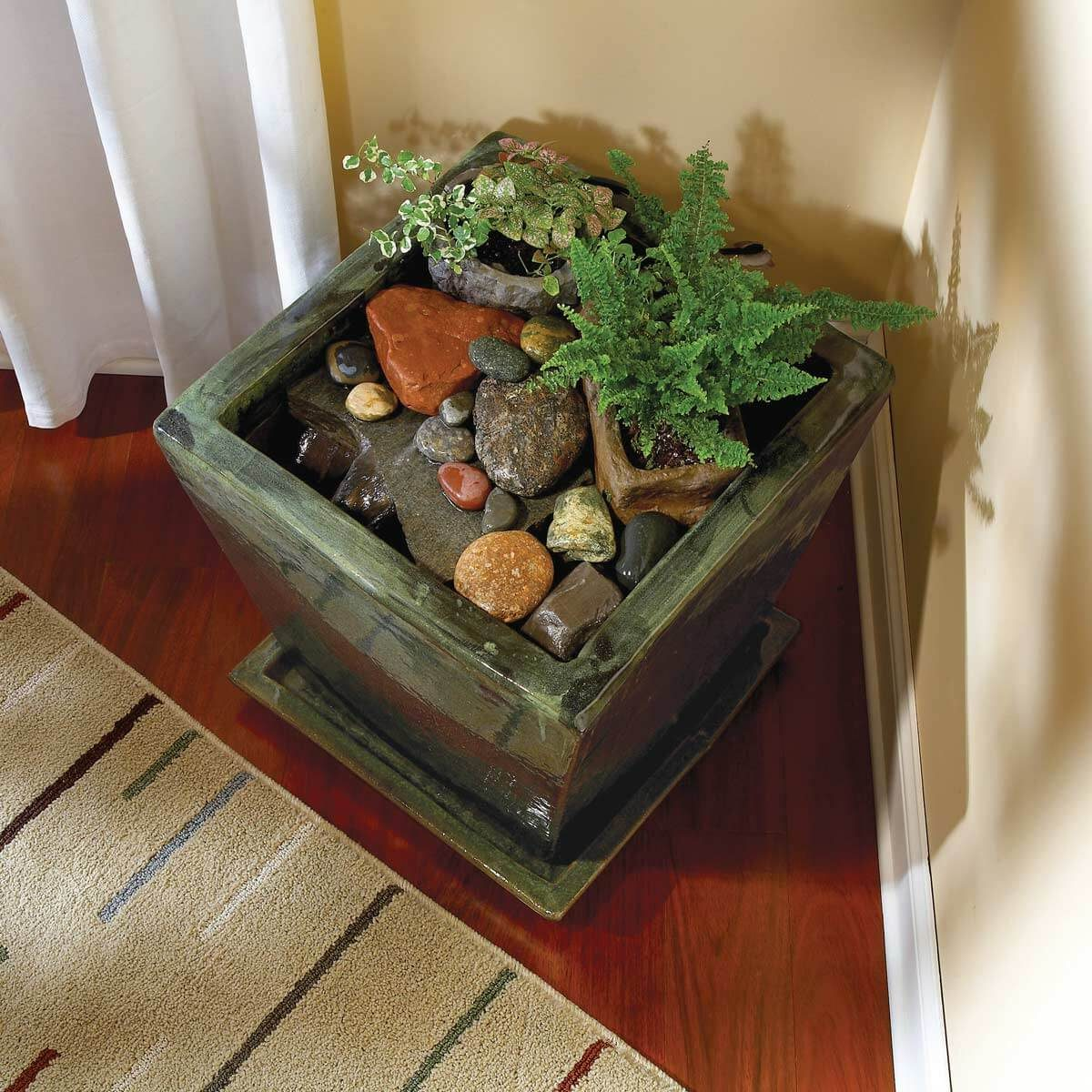 Indoor water garden