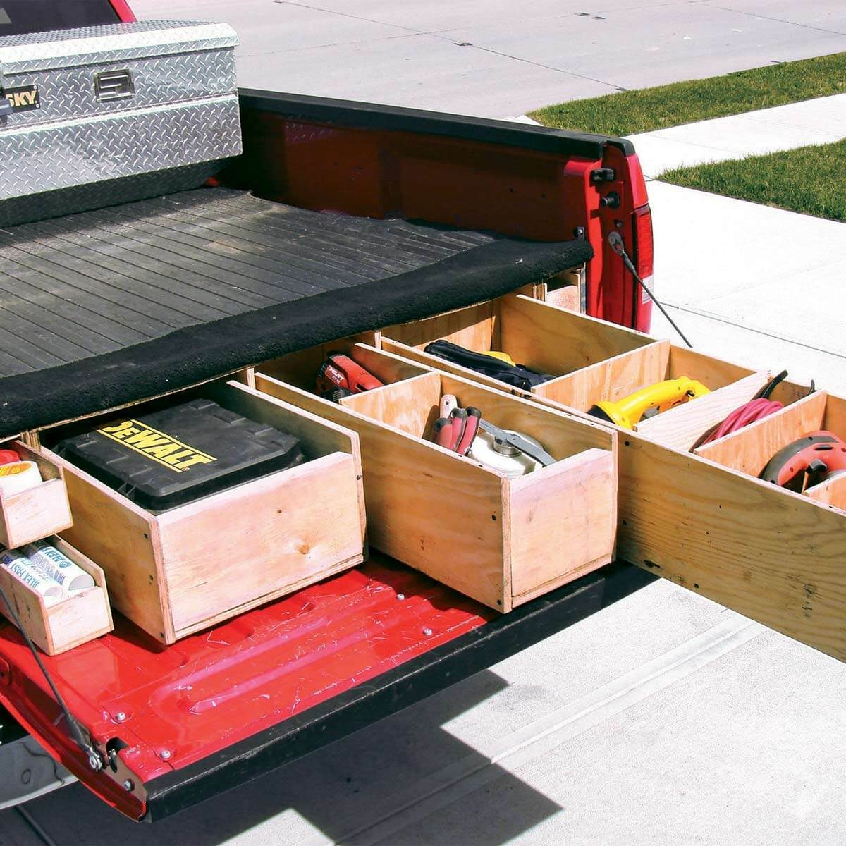 Custom Truck Bed Drawers