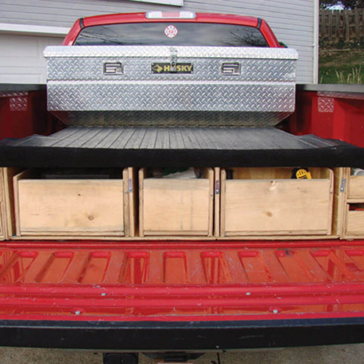Tool Drawers for Truck Bed