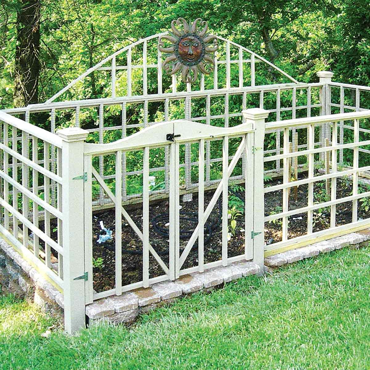 stylish critter proof fence