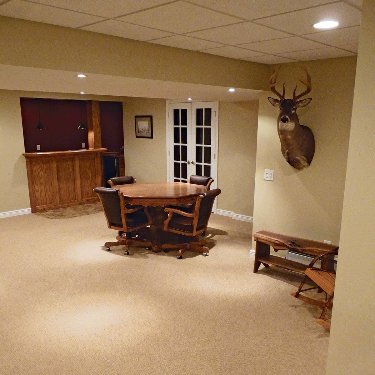 DIY Basement Remodel