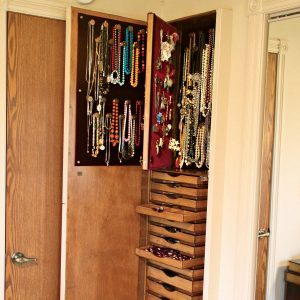 Reader Project: Built-In Jewelry Cabinet