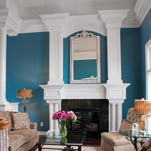 Reader Project: Magnificent Moldings Added to Living Room