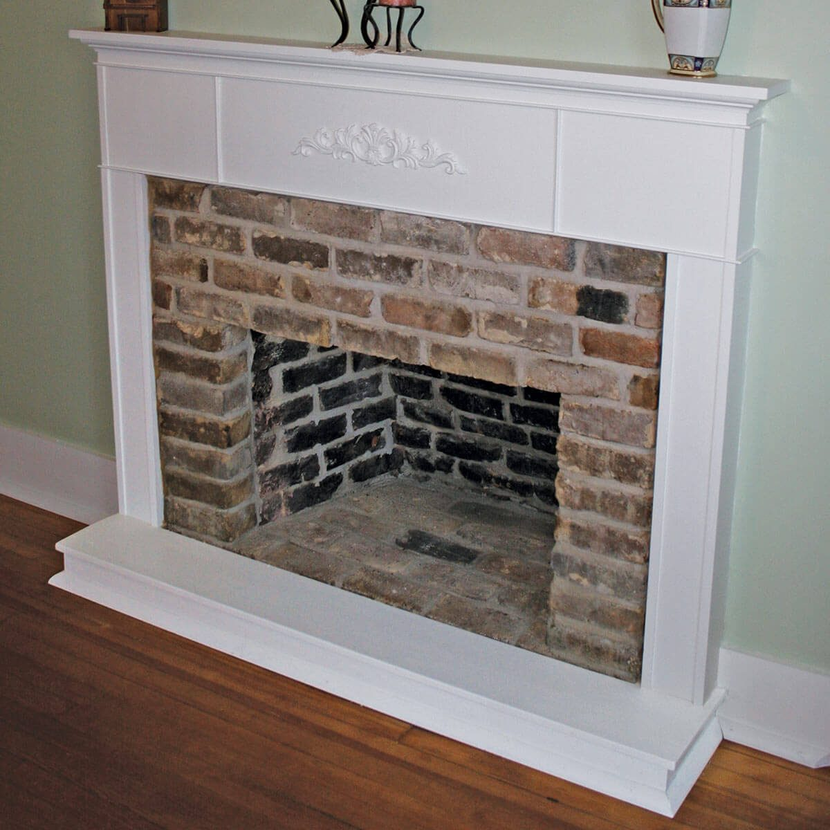 Wall Teardown Hidden Fireplace