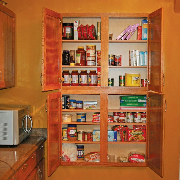 In-Wall Kitchen Cabinets