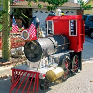 Reader Project: Barbecue and Smoker Locomotive