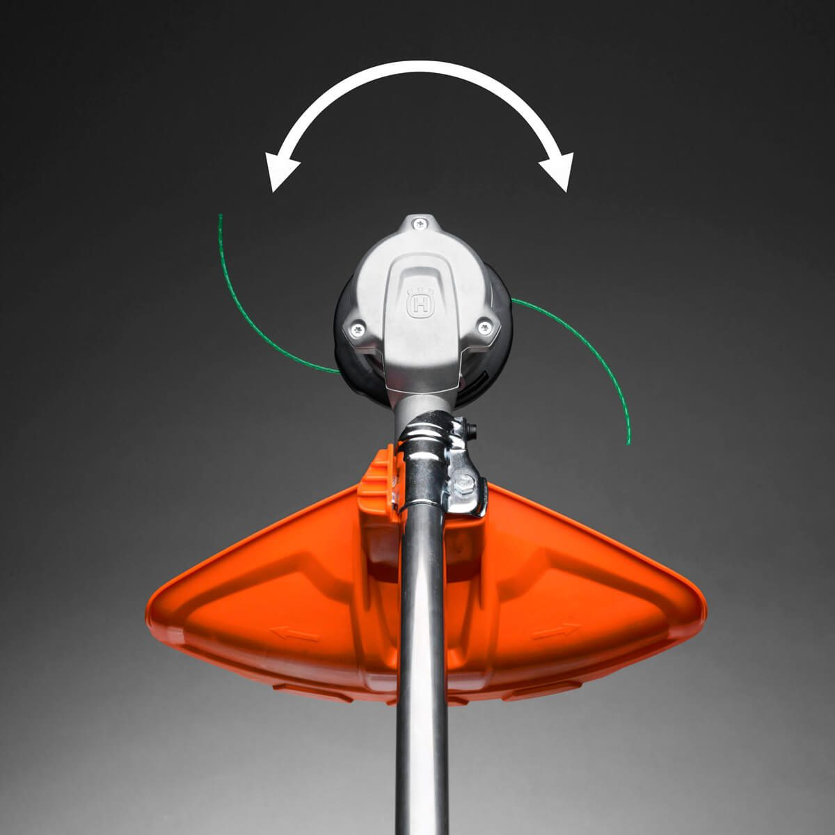 A String Trimmer With Two-way Rotation