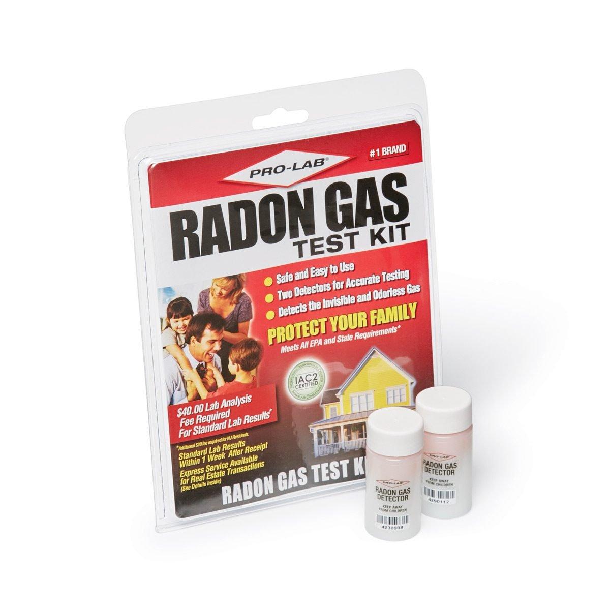 How do you test for radon?