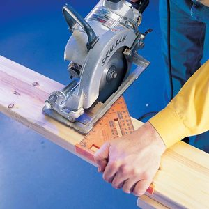 Speed Square Saw Guide