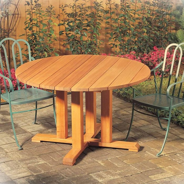 10 Diy Tables You Can Build Quickly The Family Handyman - How To Attach Metal Legs Wood Table Top