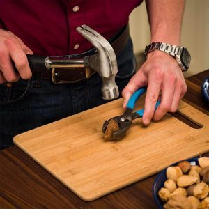 How to Crack Nuts with Hand Tools