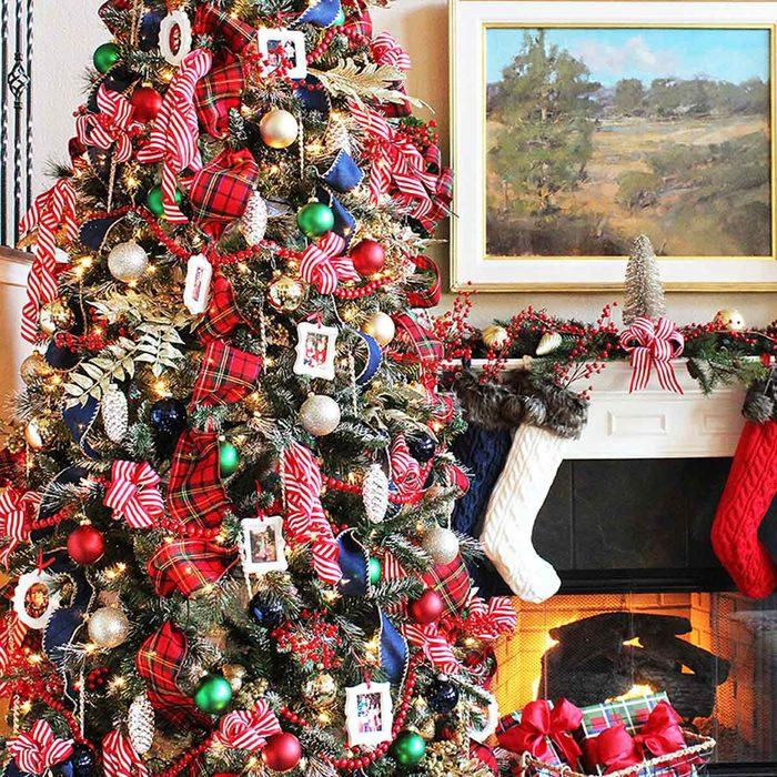 Traditional Plaid Christmas Tree