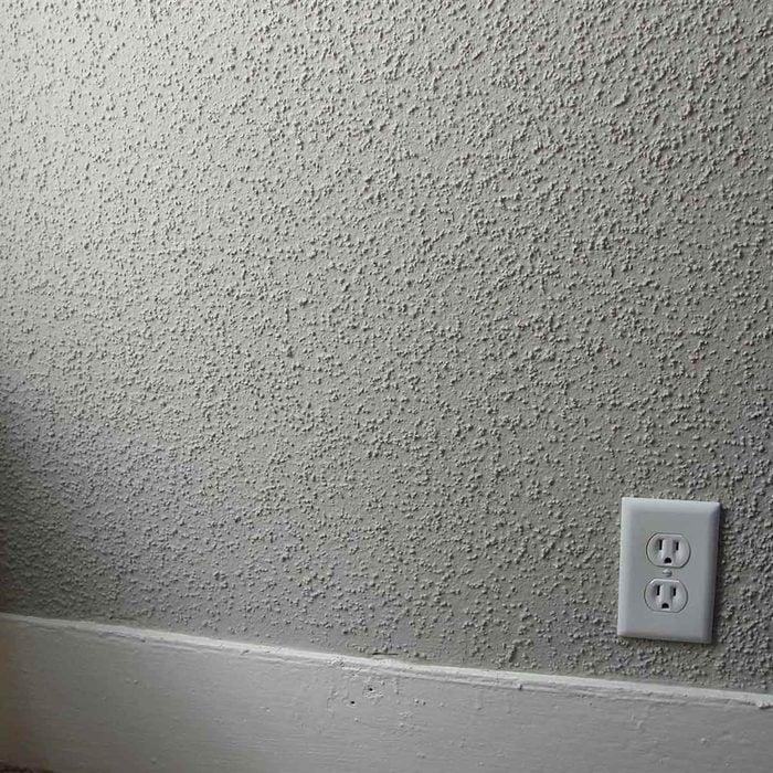 Popcorn wall
