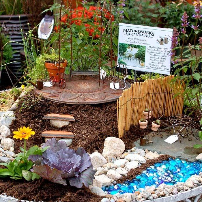 Backyard Patio Fairy Garden
