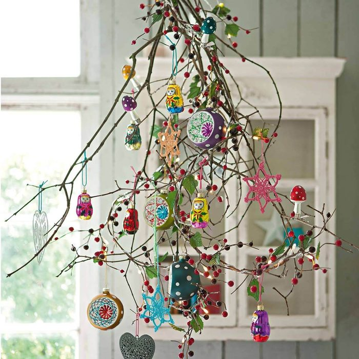 Decorated Branch Tree