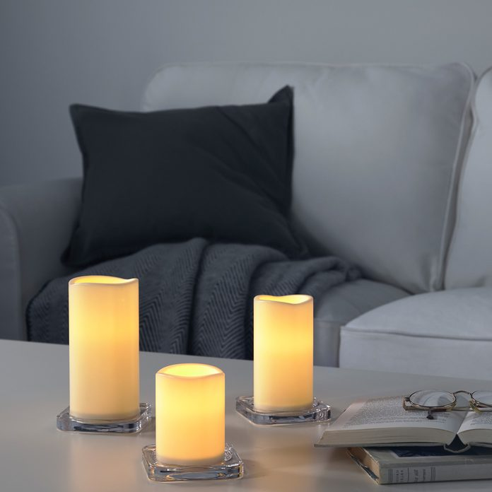 ikea battery operated candle