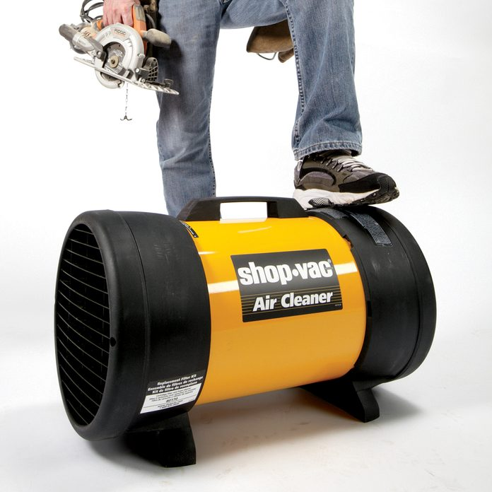 A shop-vac that doubles as an air cleaner | Construction Pro Tips