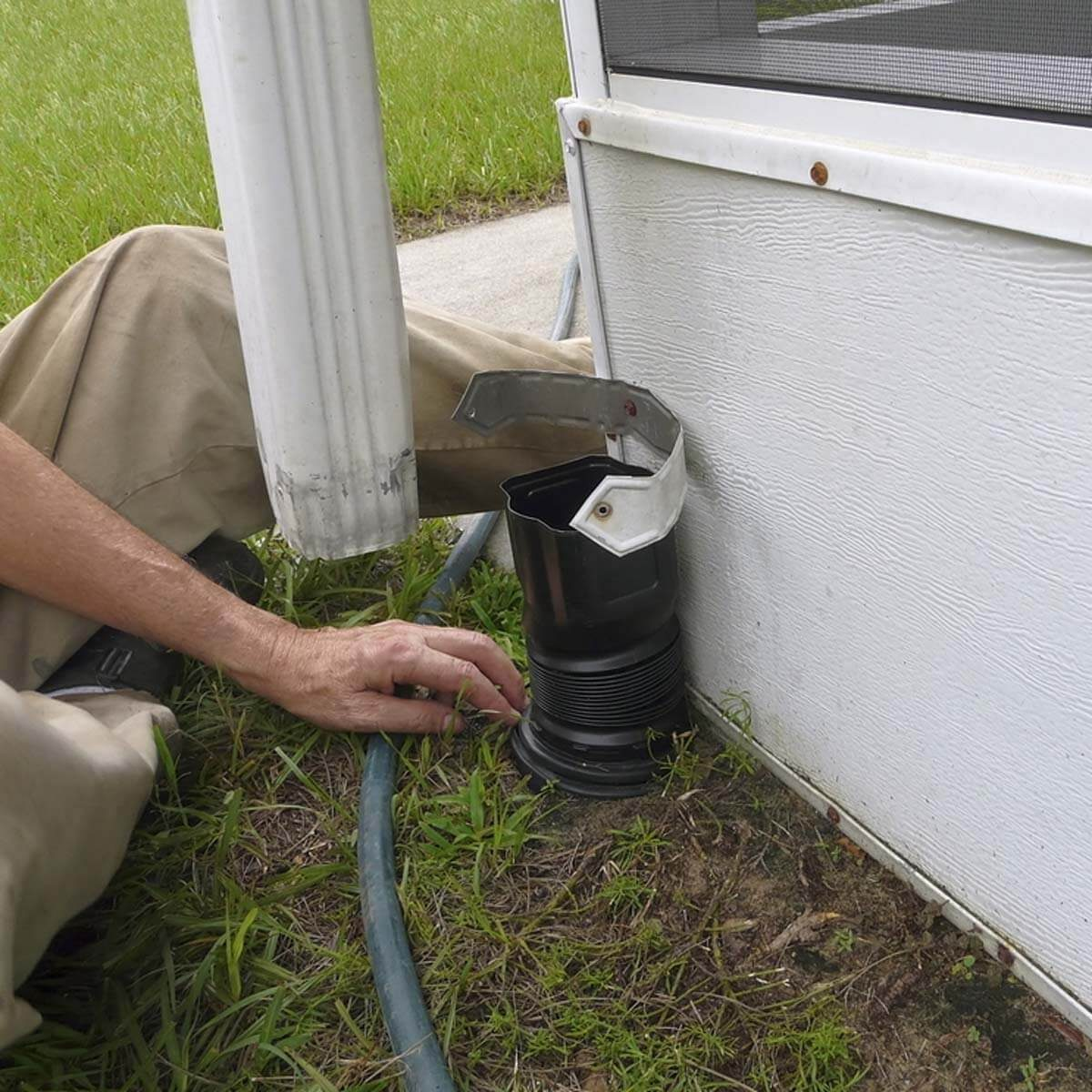 Add Extensions to Your Downspouts