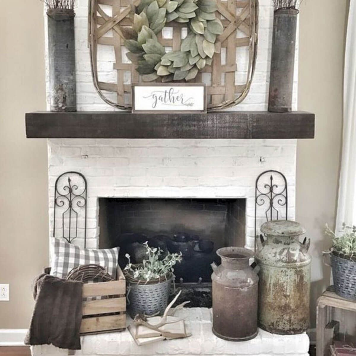 12 ideas for a non functioning fireplace the family handyman prop up some art solutioingenieria Images