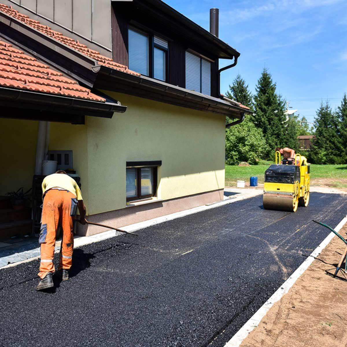 Driveway Repaving