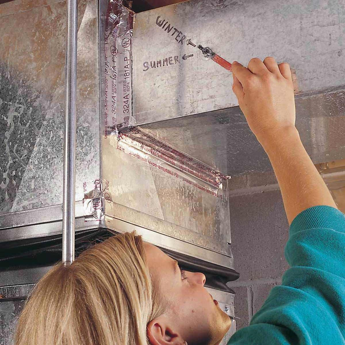 Balance your Furnace Dampers