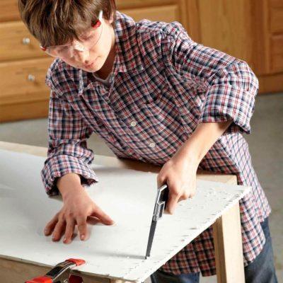 fh12jun_529_52_054 young boy diyer craft project