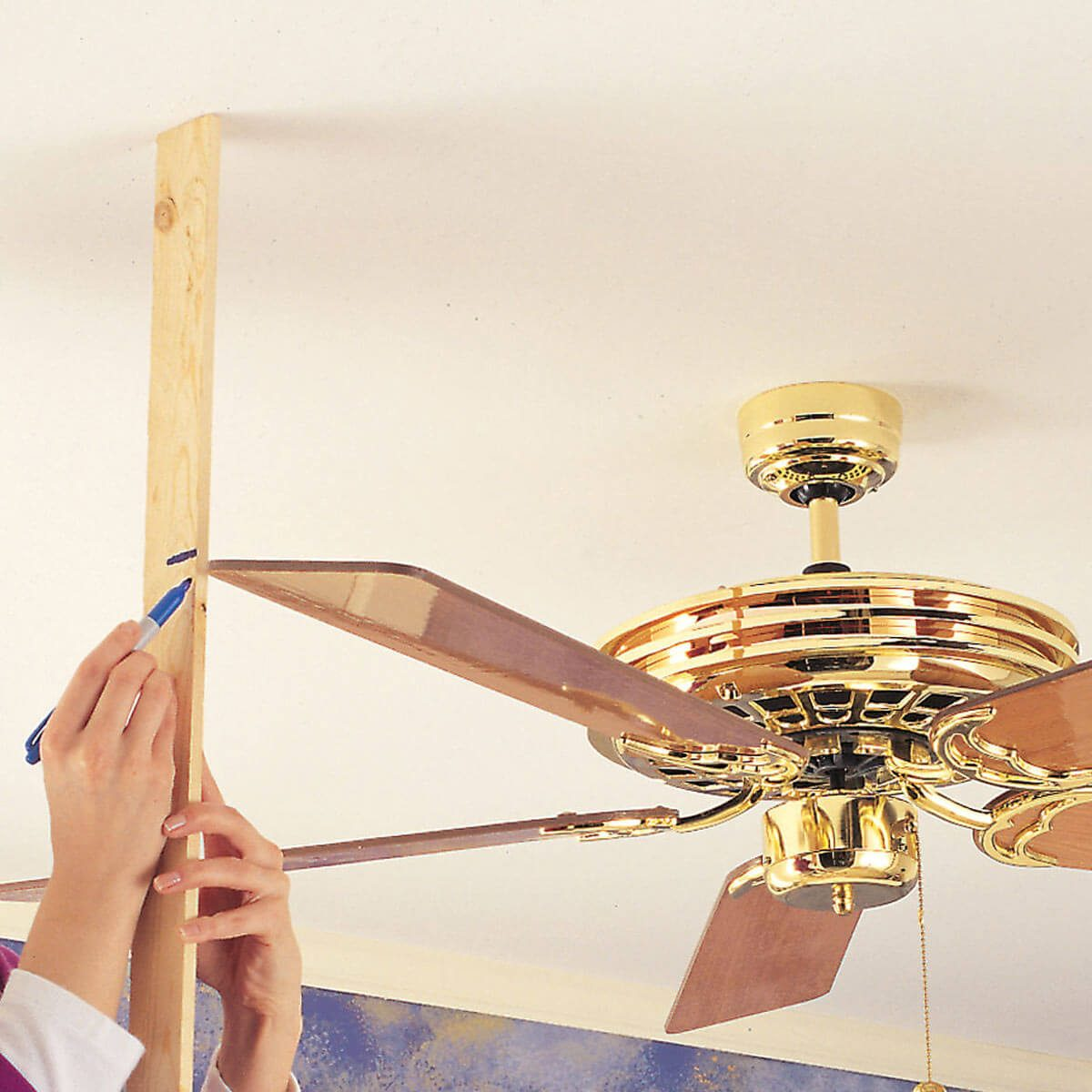 Hang a Ceiling Fan