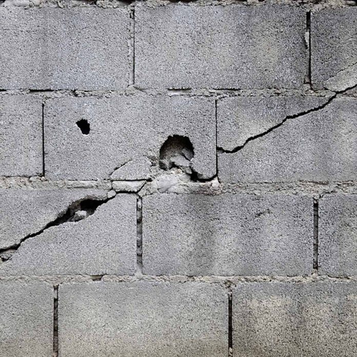 cracked foundation_449072518