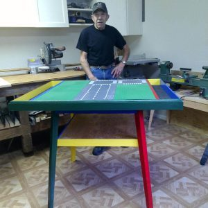 Reader Project: Custom Lego Table