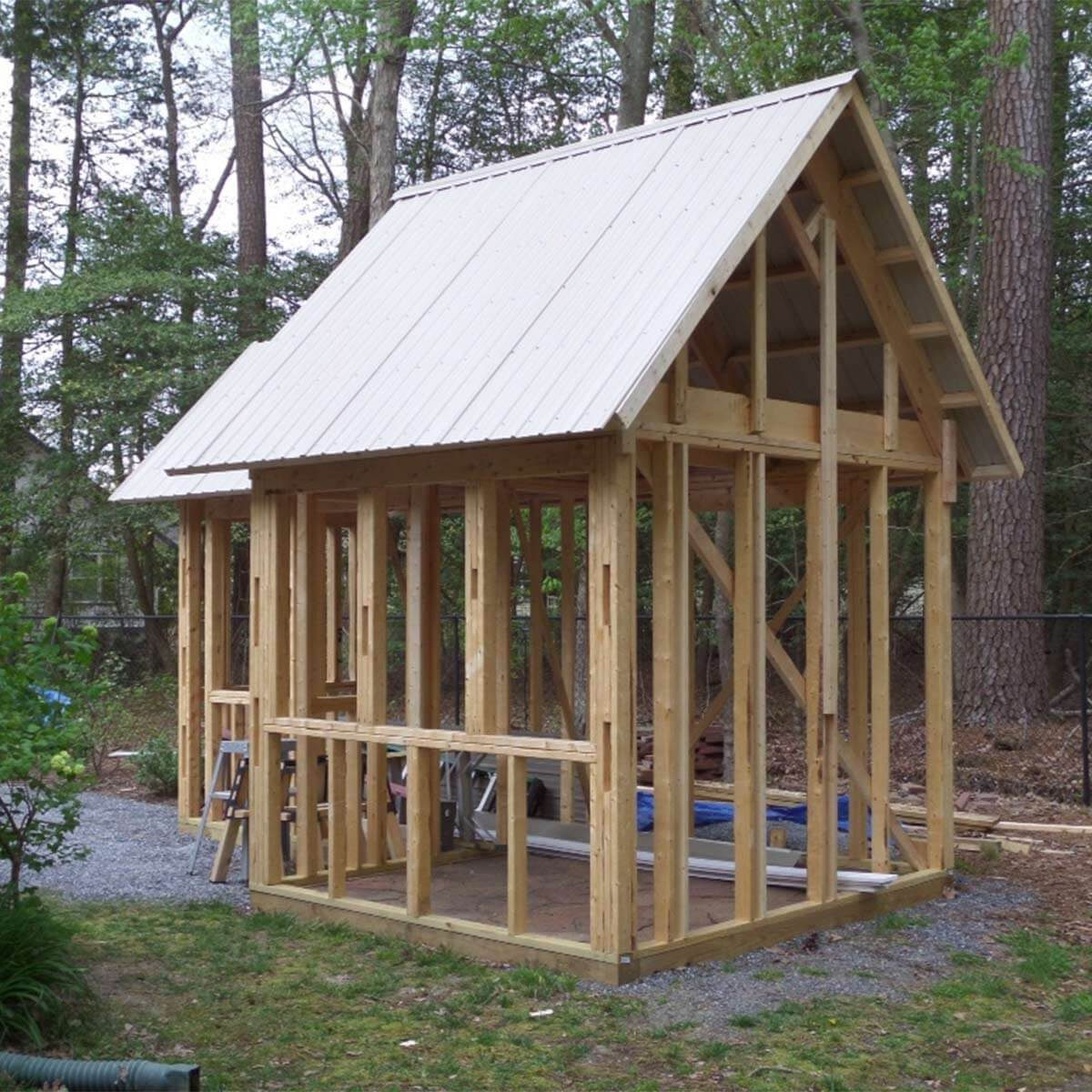 Reader project grand garden shed family handyman for Shed project