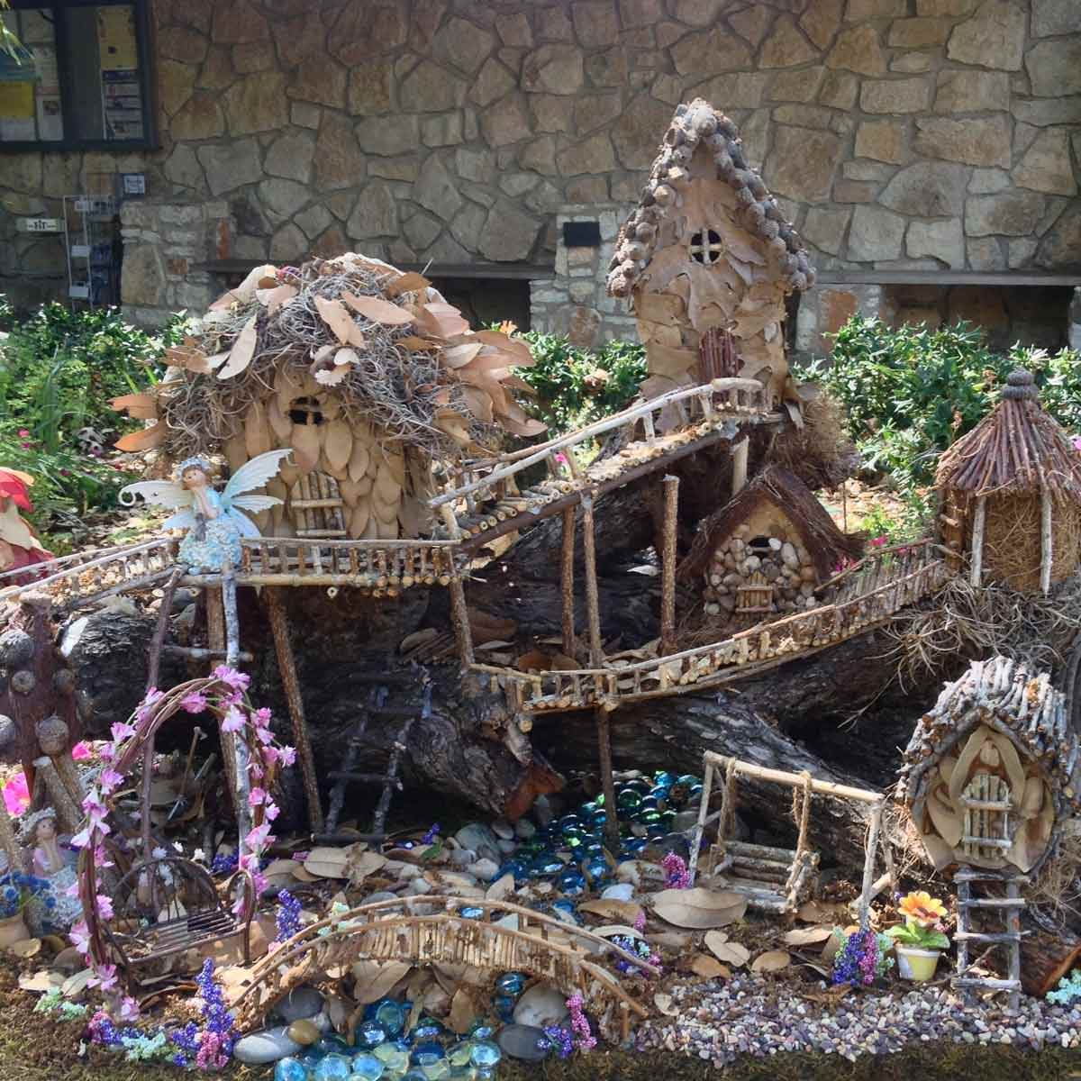 fairy garden house - Diy Fairy Garden