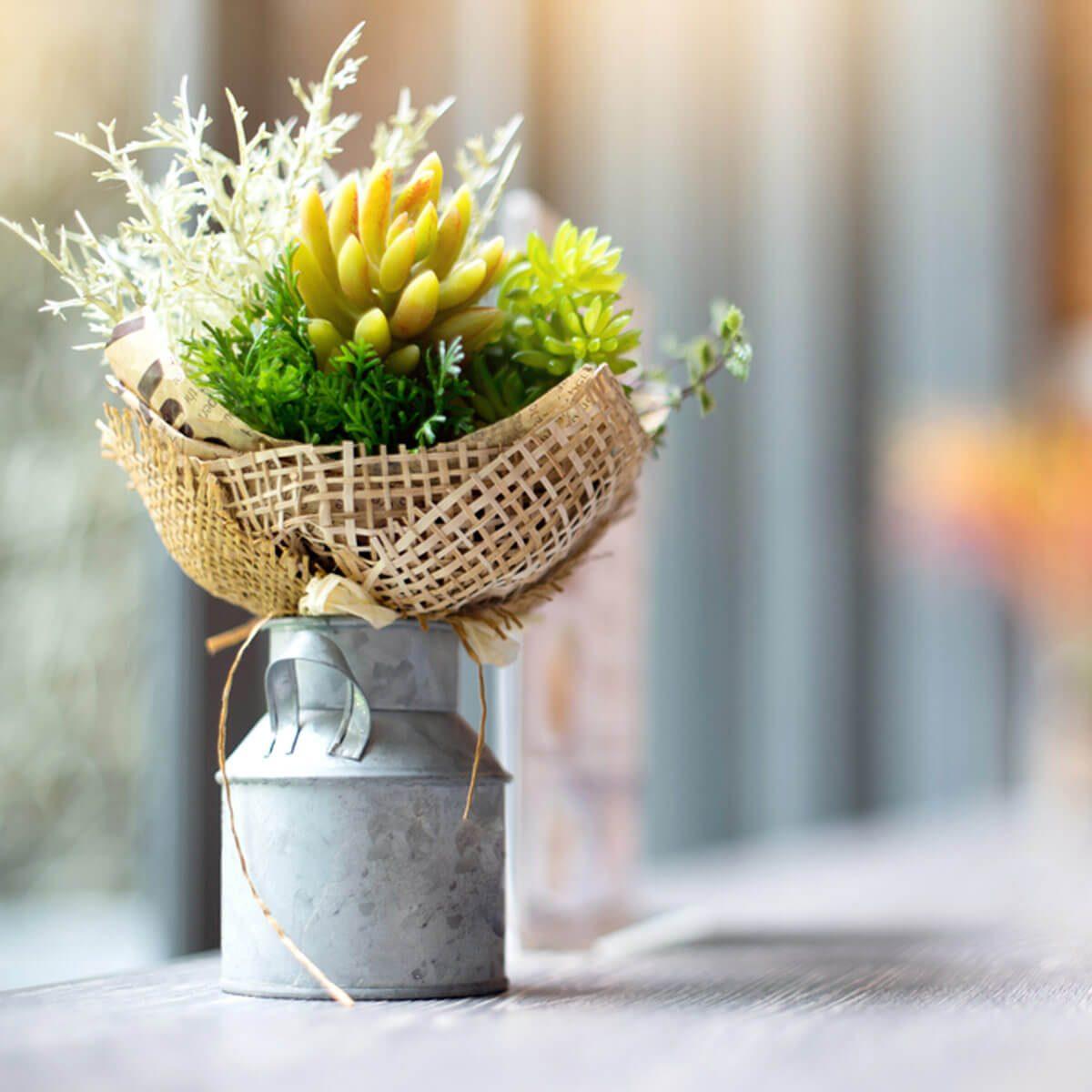 Homemade Flower Vase