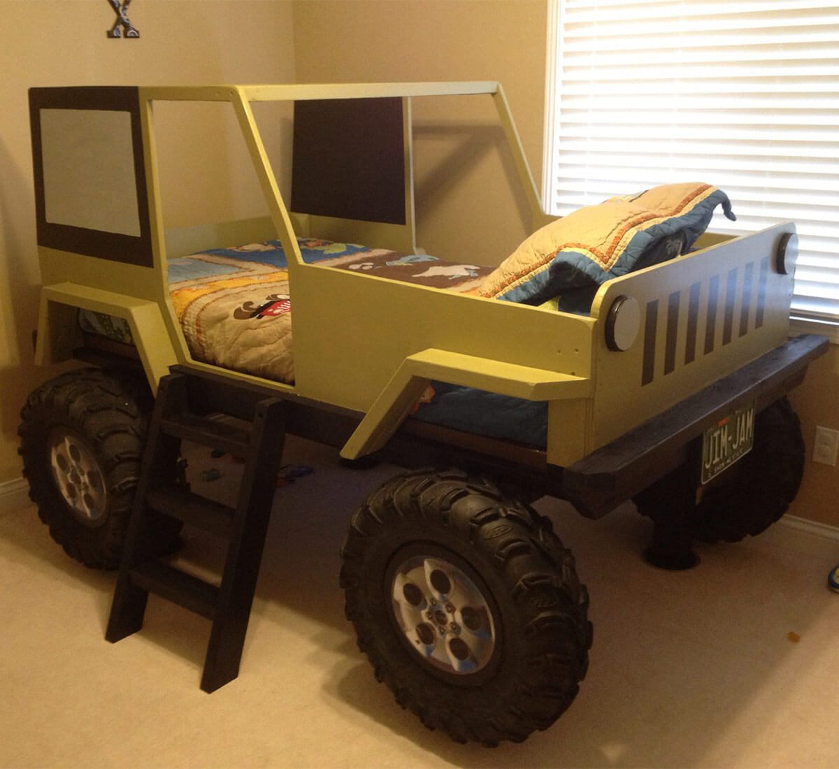 Reader Project Kids Jeep Bed The Family Handyman