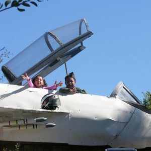 Reader Project: Backyard F-14 Play Set