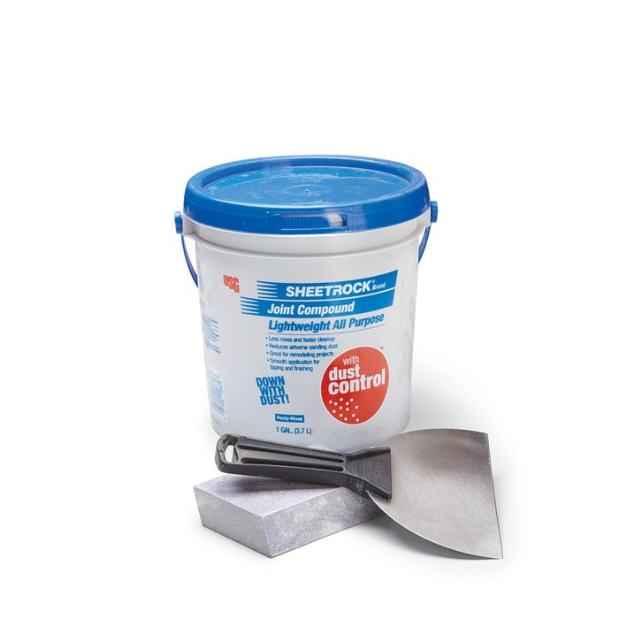 A Bucket of Low Dust Compound | Construction Pro Tips