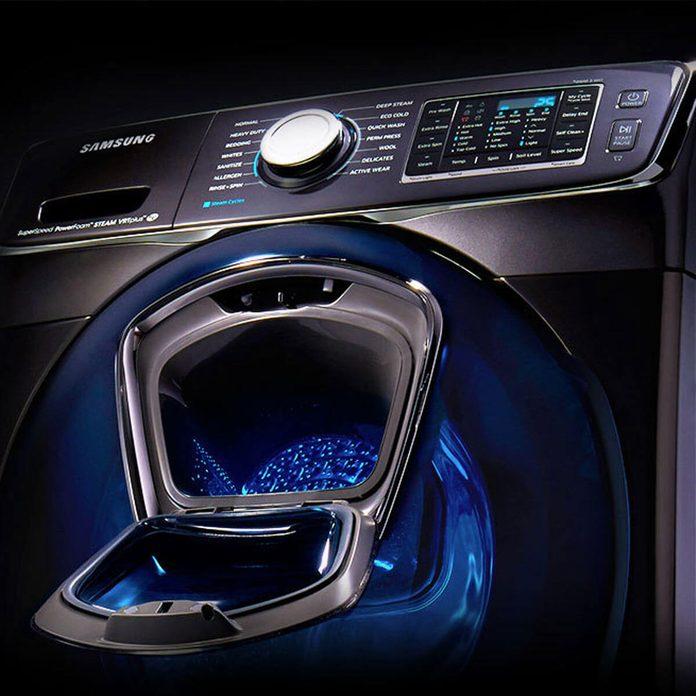 samsung washer laundry