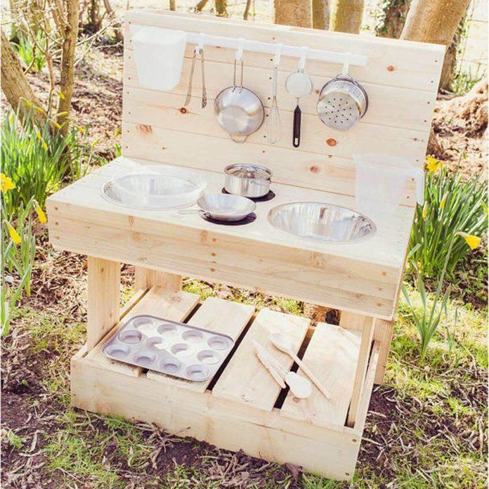 A Mud Kitchen