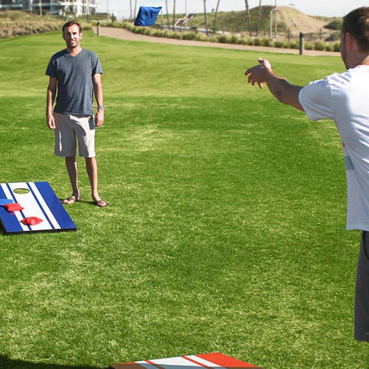 Game on! Build your own corn hole boards