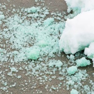 Here's Why You Shouldn't Use Salt on Concrete