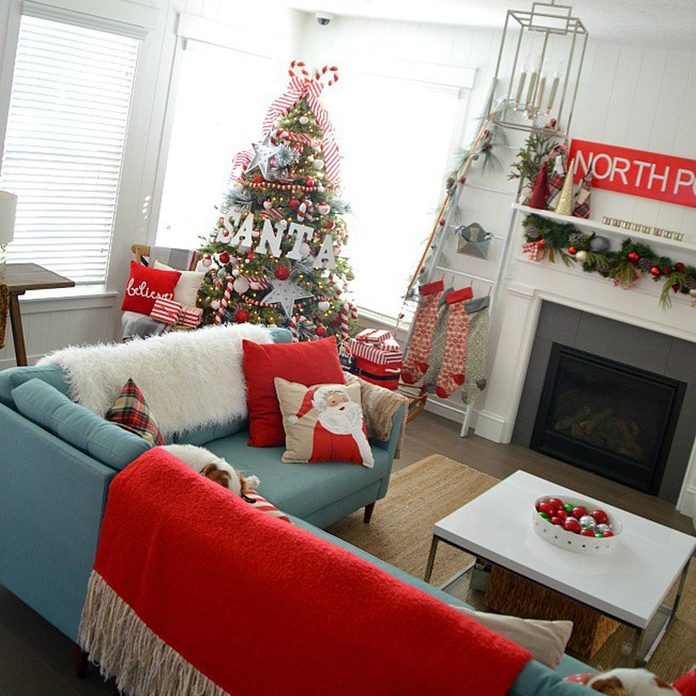 Santa North Pole Christmas Tree