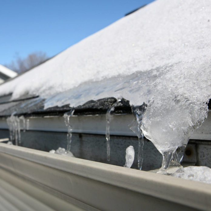 Here's How to Remove an Ice Dam From Your Roof Safely