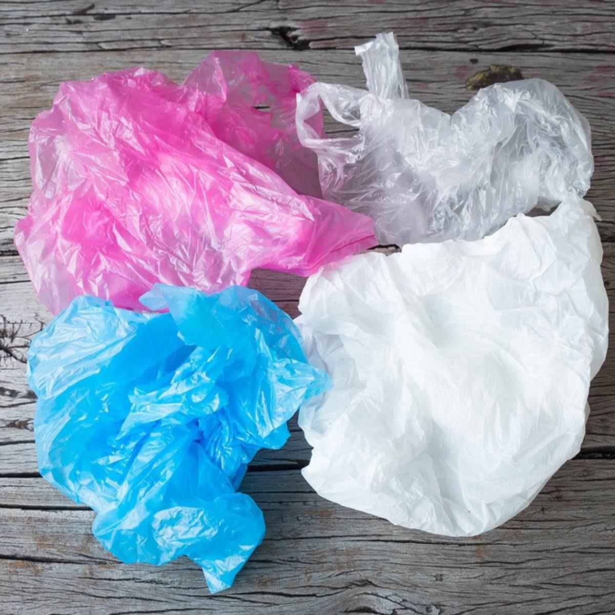 Os sacos de plástico são recicláveis, apenas não os coloque no lixo