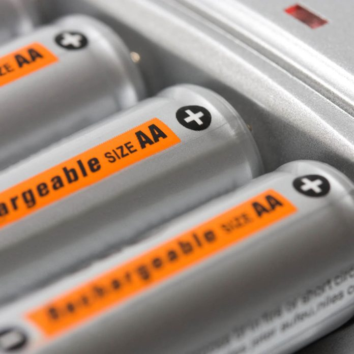 Use Rechargeable Batteries