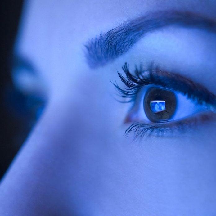 sick_426990409_07 blue light damaging to eyes staring