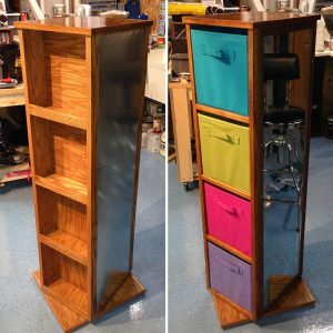 Reader Project: Spinning Storage Unit