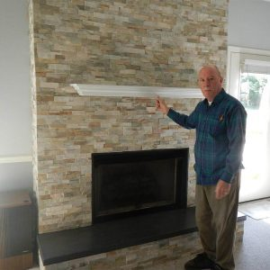 Reader Project: Fireplace Makeover