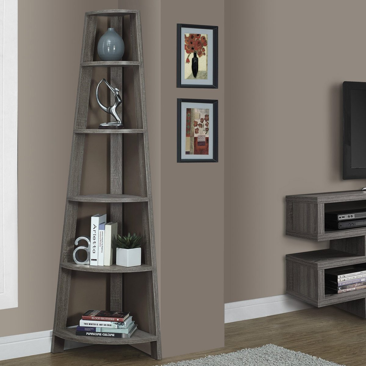 Living Room Wall Color Ideas: Taupe