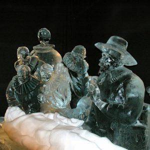 12 Incredible Chain Saw Ice Sculptures