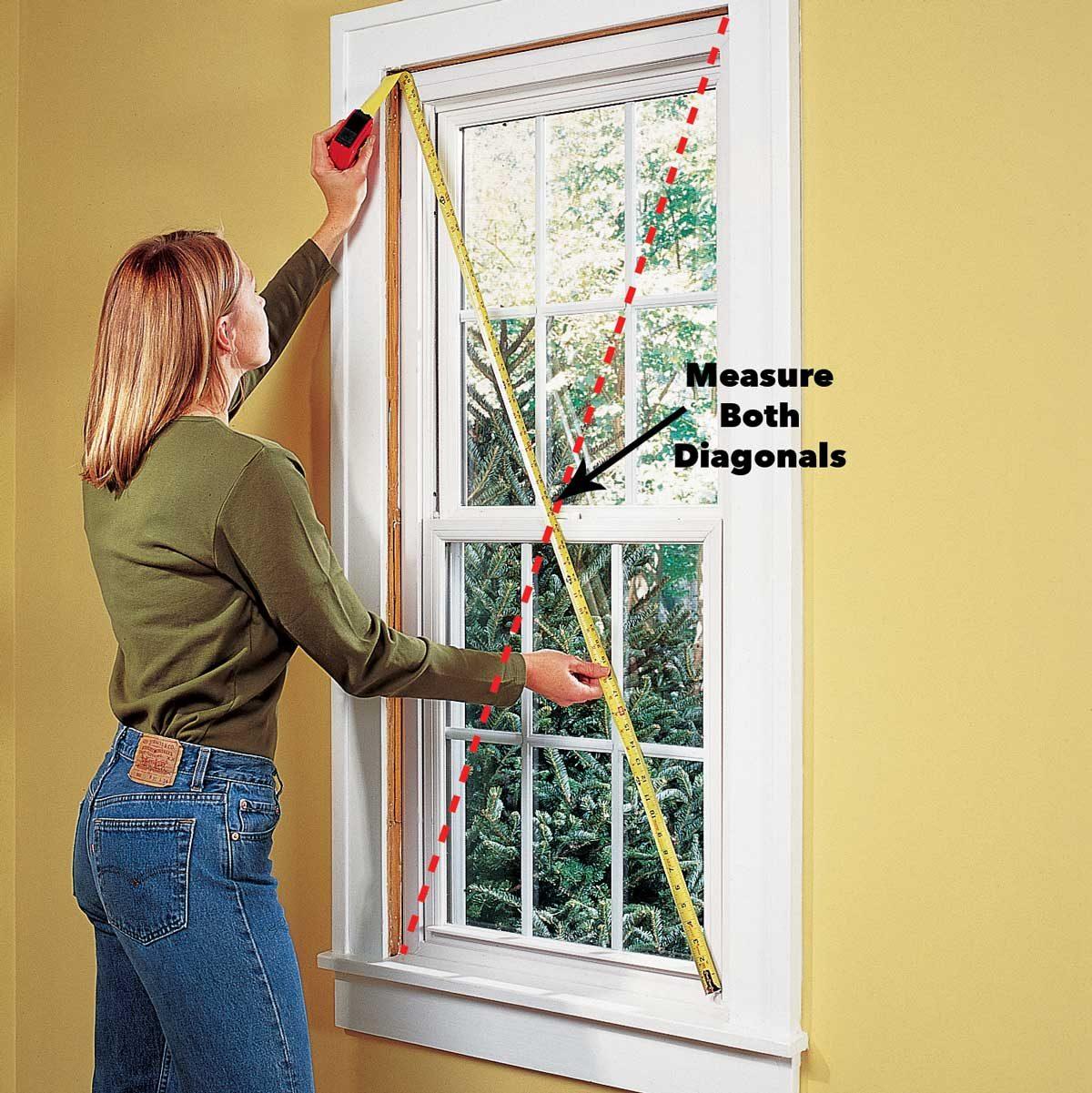проверка замены квадратного окна